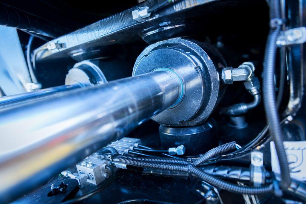 Steel machine parts